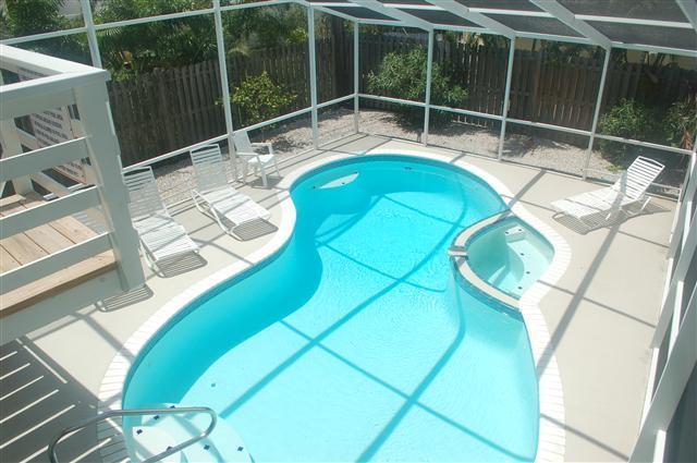 Pool-Spa - Siesta Sandcastle 353 Calle Miramar 941.349.5500 - Siesta Key - rentals