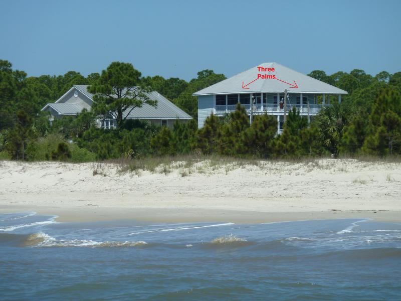 Three Palms From Gulf of Mexico - Three PalmsCompound-Beach Front  Pool-Pet Friendly - Port Saint Joe - rentals