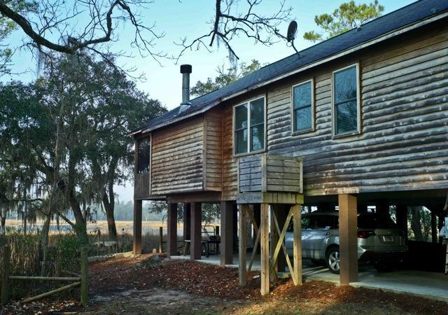Cabin - Creekfront home 20 minutes to downtown Charleston - Charleston - rentals