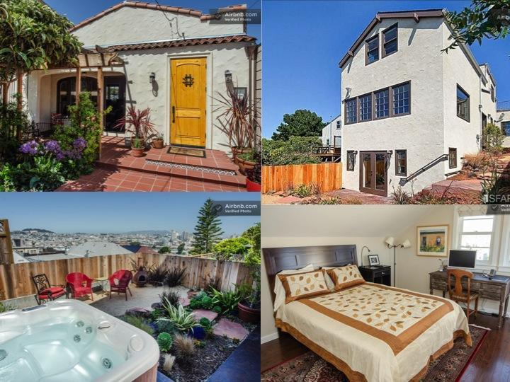 Potrero Paradise - Potrero Paradise - Lux 3 BR 3 BA Hot Tub Views - San Francisco - rentals