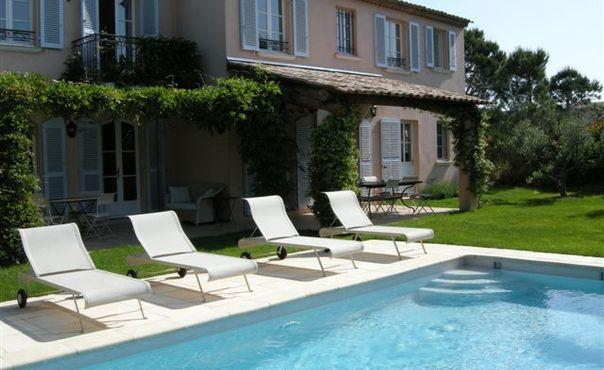 Lovely 4 Bedroom House with a Pool and Garden, St Tropez - Image 1 - Saint-Tropez - rentals