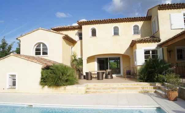 Beautiful 6 Bedroom Villa with a Garden, in Grimaud - Image 1 - Grimaud - rentals