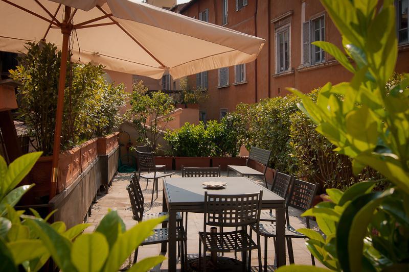 Terrace - Rome Accommodation Campo Marzio - Rome - rentals