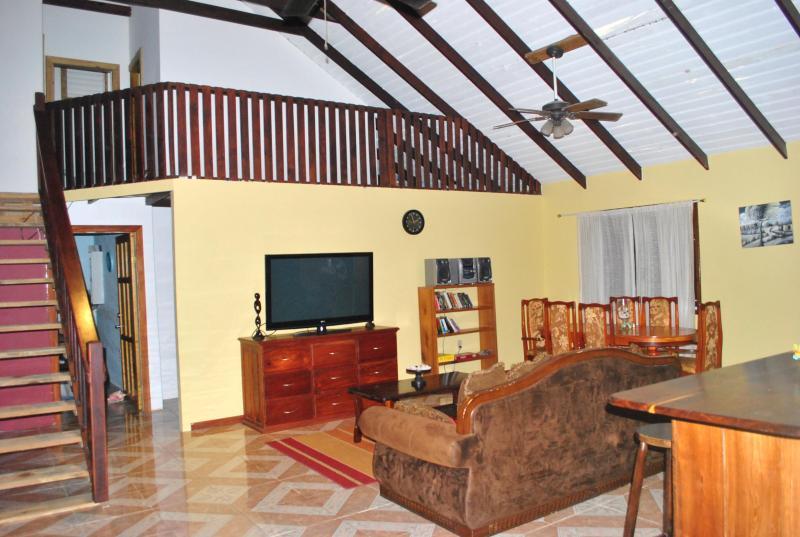Living room/ dining room - Village View Rental Placencia - Placencia - rentals