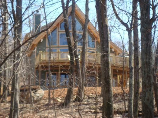 Wintergreen Retreat through the Trees - Wintergreen Retreat - New Luxury Post & Beam Home - Wintergreen - rentals