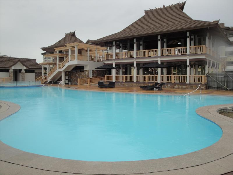 Large Pool and Clubhouse - One Oasis Condo Rental - Davao - rentals
