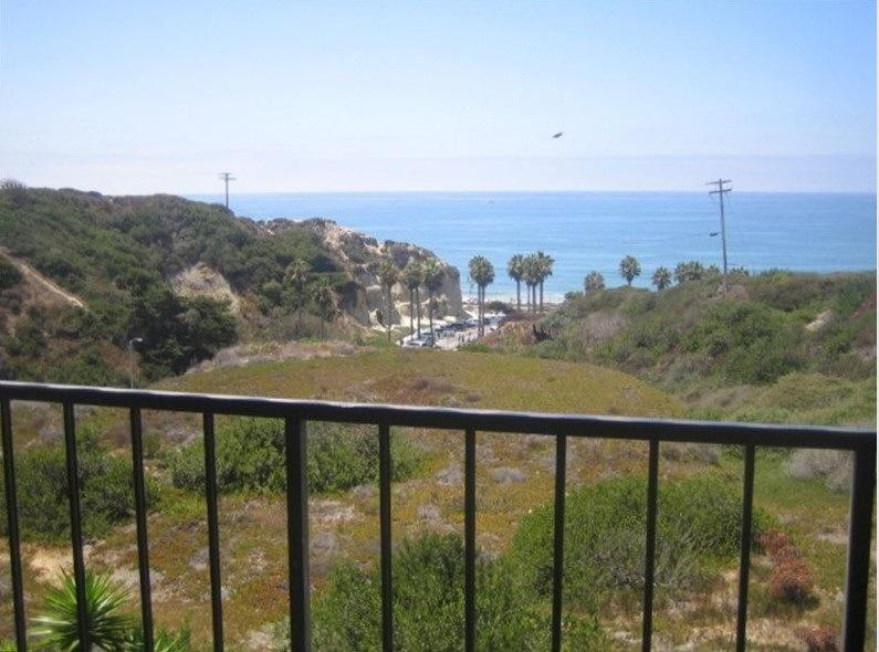View from front deck - Beach front condo;  WE ONLY RENT BY THE MONTH - San Clemente - rentals