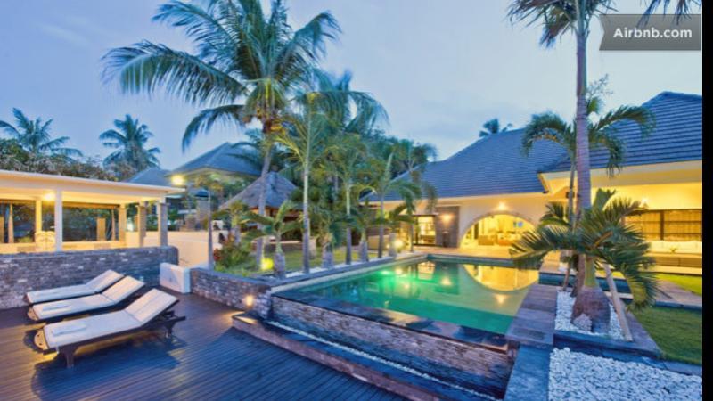 BEACHFRONT SUPERVILLA WITH STAFF swimpool jaccuzzi - Image 1 - Bali - rentals