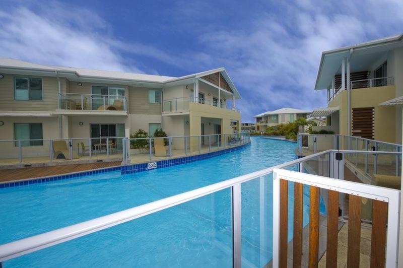 Balcony View - Pacific Blue Resort 140 - Salamander Bay - rentals