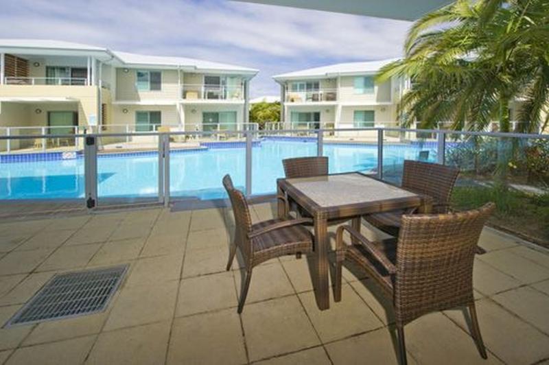 Balcony - Pacific Blue Resort 129 - Salamander Bay - rentals