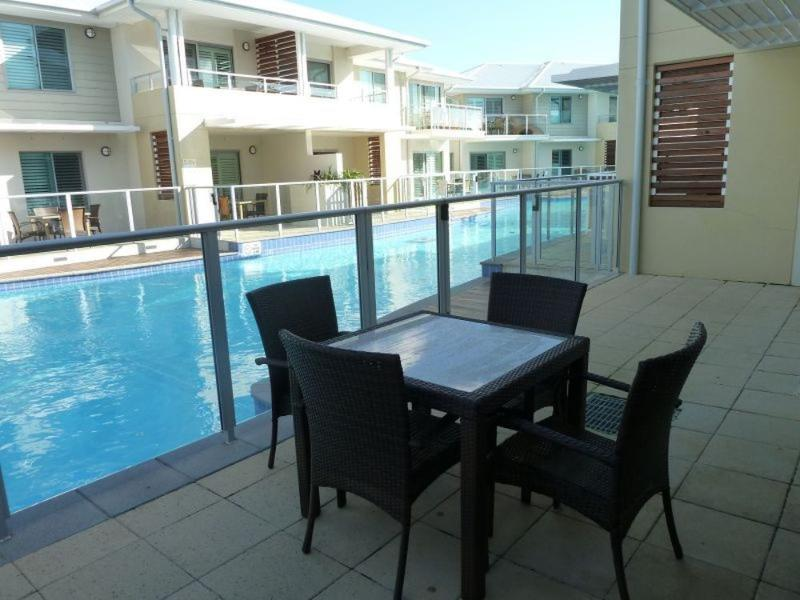 Balcony - Pacific Blue Resort 130 - Salamander Bay - rentals