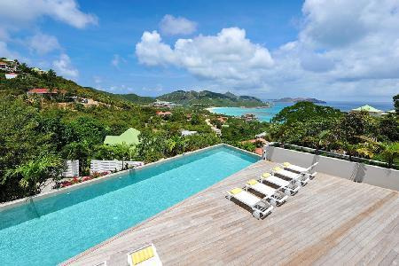 La Belle Creole, breathtaking Villa with large pool and maid service - Image 1 - Saint Jean - rentals