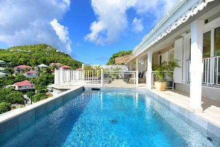South View Villa with beautiful sunset views, staff and vehicle included - Image 1 - Colombier - rentals