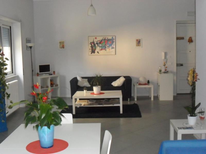 LIVING ROOM - CASA VACANZA LIBERTA' - - Palermo - rentals