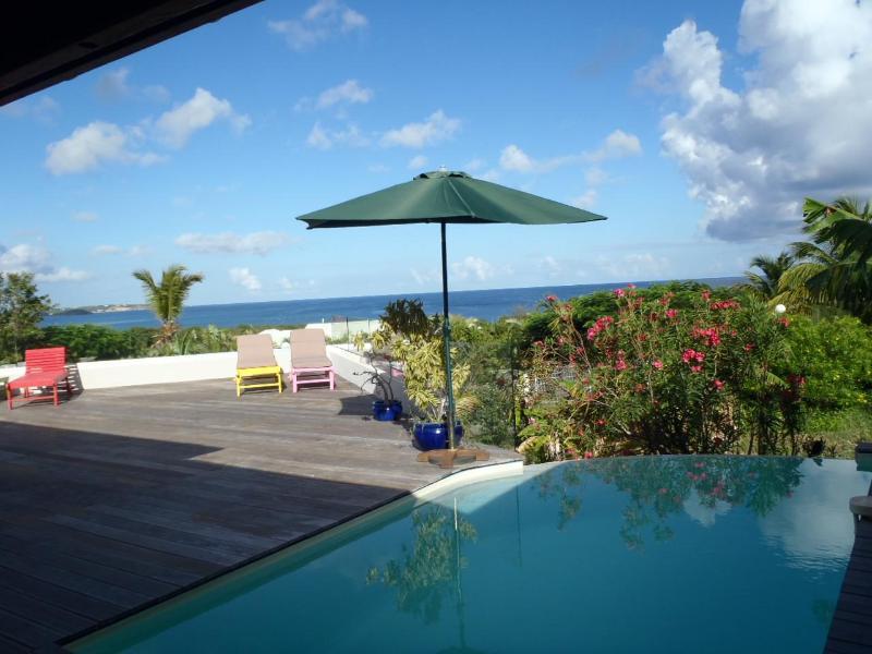 VIEW FROM THE TERRACE - HUMMINGBIRD VILLA - Saint Martin-Sint Maarten - rentals