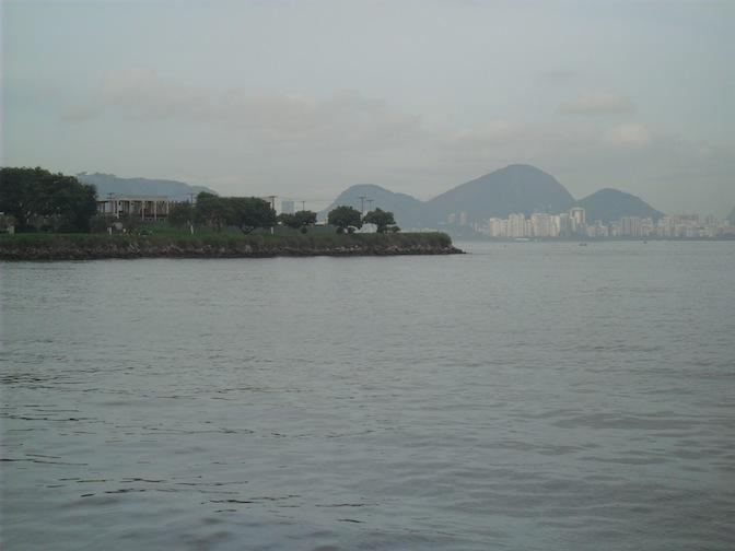 View from the balcony - 2 bedroom in Niteroi. - Niteroi - rentals