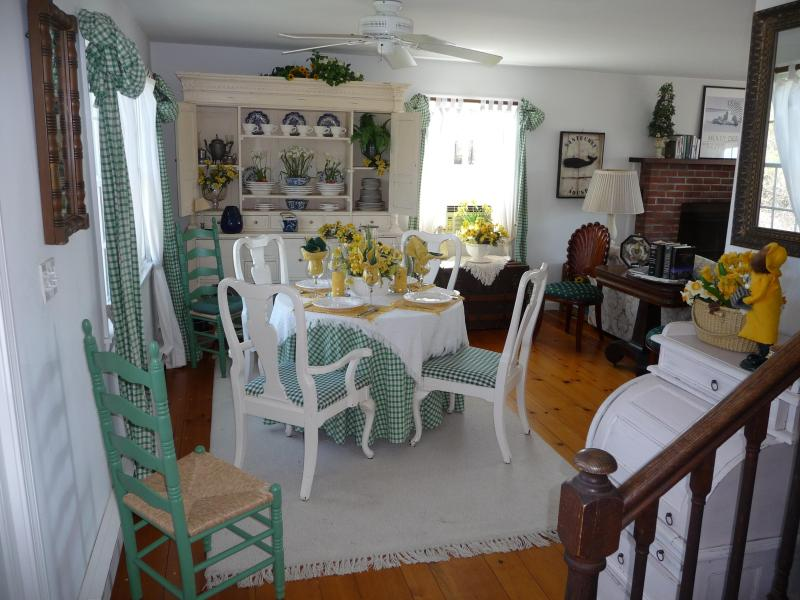 Dining Area Portion of Combination Living Room/Dining Area - Nantucket - Off Cliff Road - 1 Mile From Town - Nantucket - rentals