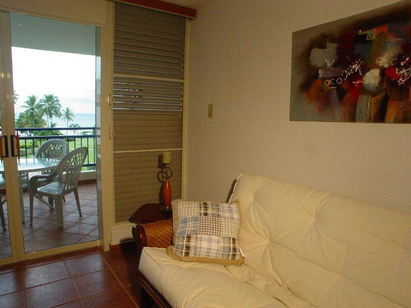 Balcony view from living room - Haciendas del Club Golf & Playa IV307 - Cabo Rojo - rentals