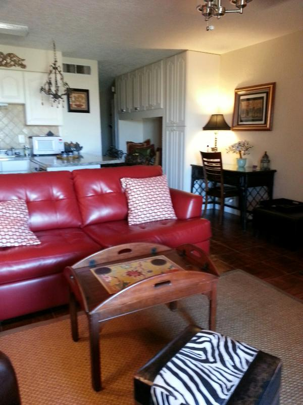 Living Room W/Sleeper Sofa - THE BEST PLACE TO STAY IN CANYON LAKE - D4 - Canyon Lake - rentals