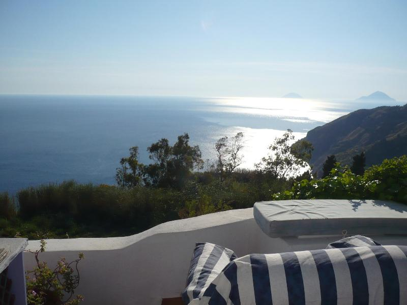 sea view - Romantic getaway cottage aeolian islands lipari - Lipari - rentals