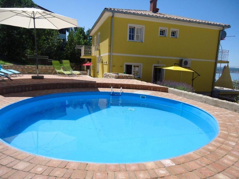 Vila Rosa Mora - Pool - Vila Rosa Mora - Studio apartment Smokva - Crikvenica - rentals