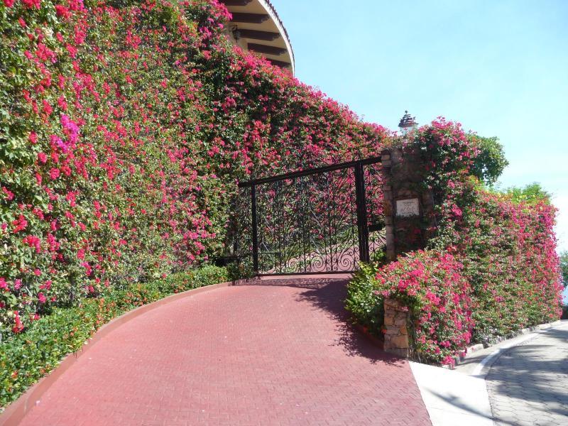 Entrance to Casa de Cielo - CASA DE CIELO, La Punta, Manzanillo, Colima, MX - Manzanillo - rentals