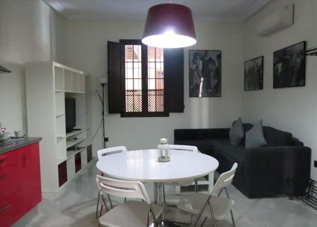 Living-room - Lovely apartment just in the heart of Seville. 1 Bedroom(4pax) - Seville - rentals