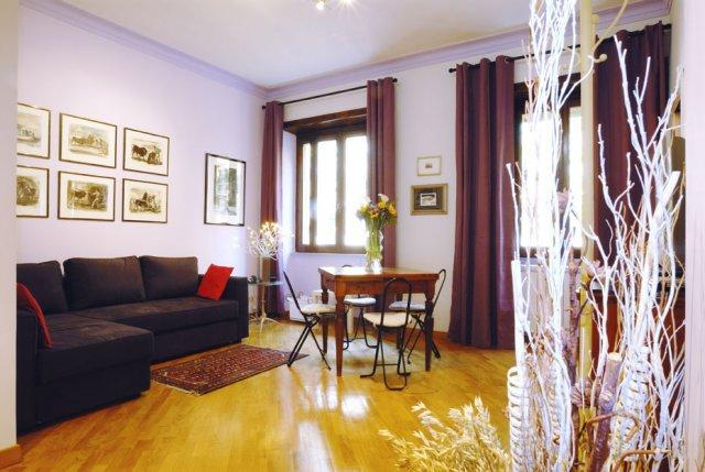 Living room with double sofa bed - Rome Accommodation Maxxi - Rome - rentals