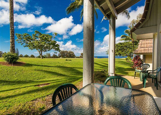 10% off May Dates! Puamana 12A, Golf Course, Mountain & Ocean Views! - Image 1 - Princeville - rentals