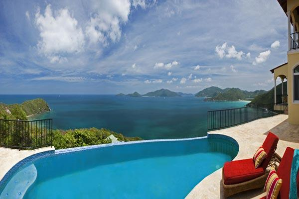 Seated on a generous one- acre lot overlooking a panorama of the Guana Islands. MAT ACE - Image 1 - Tortola - rentals