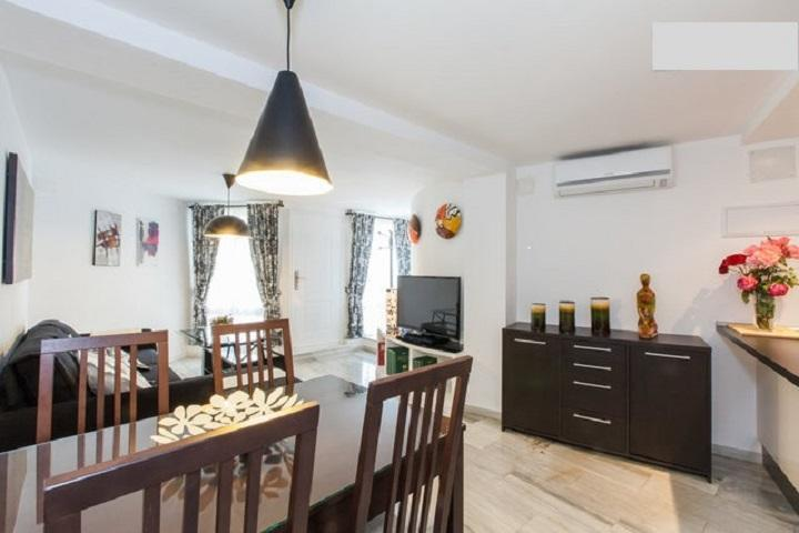 Living room spacious and bright - APARTMENT CENTER SEVILLA (Wi-Fi). CATHEDRAL 3 MIN. - Seville - rentals