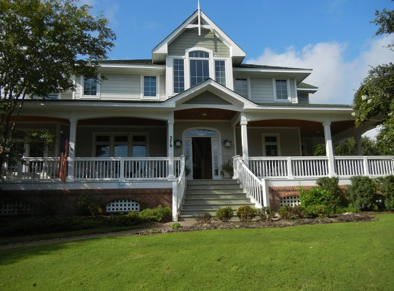 Beautiful Currituck Club Home with Grand Front Porch - Soundfrnt Resort HomePrivate Pool, HotTub 7/11DISC - Corolla - rentals
