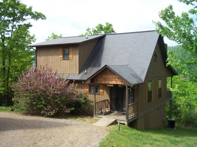Laurel Mountain Cabins, Violet Cabin - Laurel Mountain Cabins, The Violet Cabin - Peaceful, Quiet, Perfect - Hiawassee - rentals