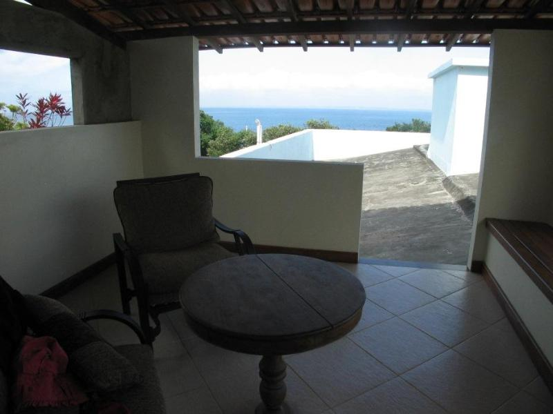 Private Balcony Overlooking the All Saints Bay - Terrace Apartment at Porto da Barra Beach - Salvador - rentals