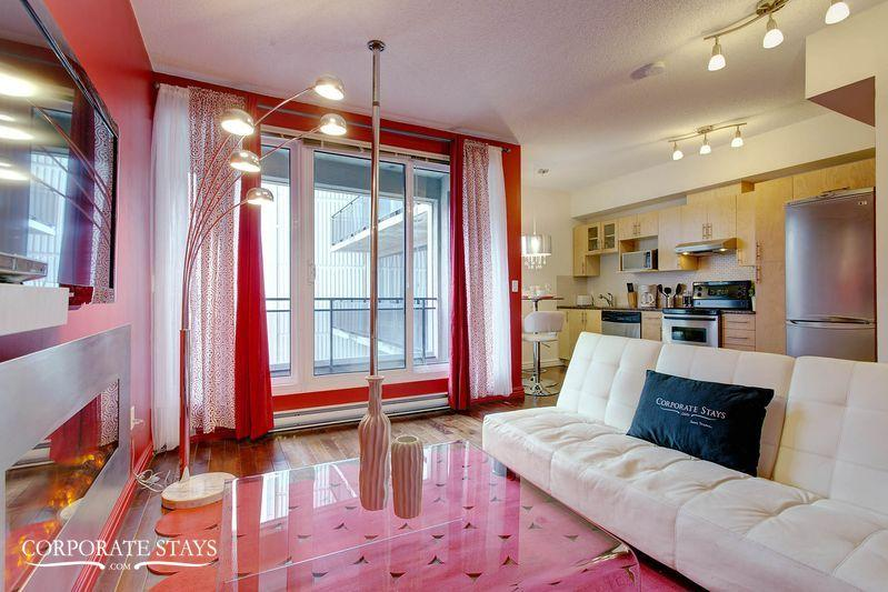 Ruby Suite | Furnished Upscale Rental | Montreal - Image 1 - Montreal - rentals