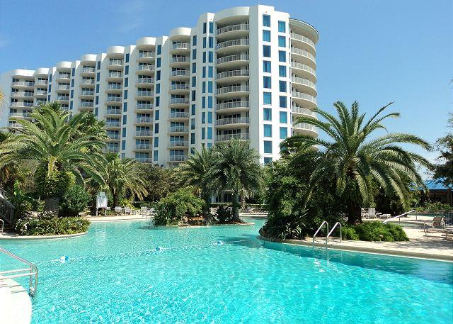 Pool and Tower - 11th floor condo located at one of the newest resorts in Destin, Florida - Destin - rentals