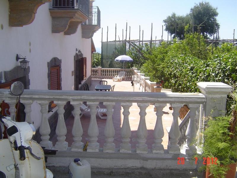 external of building - villas rental Holiday  house  private car parking - Massa Lubrense - rentals