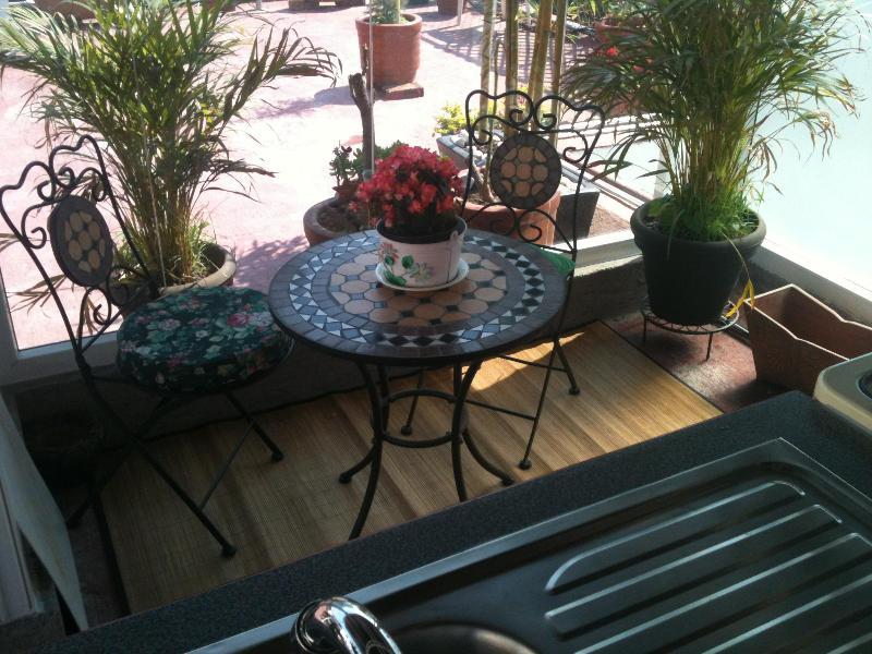 Zona comer y guisar - Loft Pen Hause .Room Green Roff,  like  Hotel - Puebla - rentals