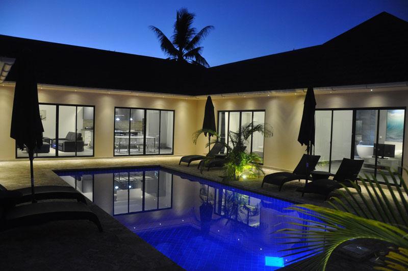 Grand Amber Villa at night - Grand Amber Villa - Diani - rentals