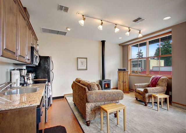Pet Friendly Condo in Downtown Friday Harbor! -(San Juan Suites -Valley Farm) - Image 1 - San Juan Island - rentals