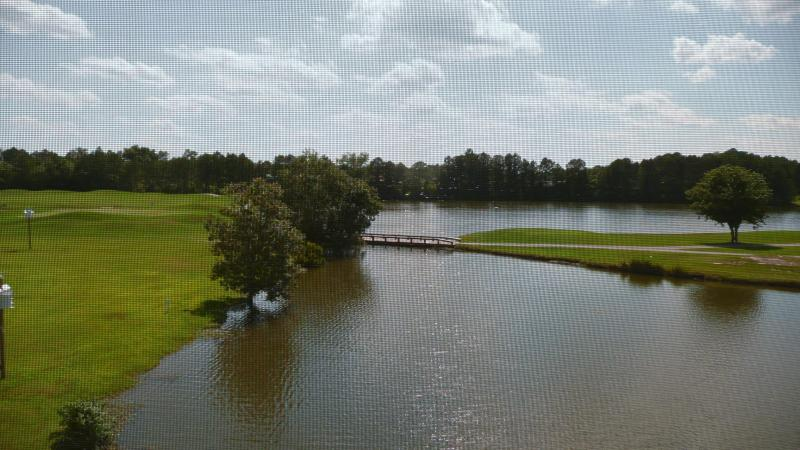 View of golf course & lake from porch - ABERDEEN COUNTRY CLUB 20H - Longs - rentals