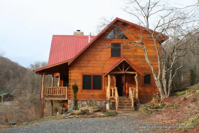 Cozy Newer Log Cabin*BIG VIEW*Hot tub*Central AC - Image 1 - Zionville - rentals