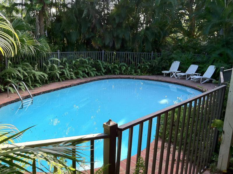 Large, fenced pool. Weekly maintenance by professionals. - Large Luxurious Home in Exclusive Gated Community - San Juan - rentals