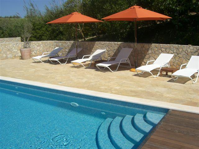 large salt water swimming pool - Casaboavista guest house in Portugal - Sao Martinho do Porto - rentals