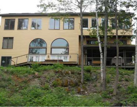 lake side of home - Maine Lake House - Saint Albans - rentals