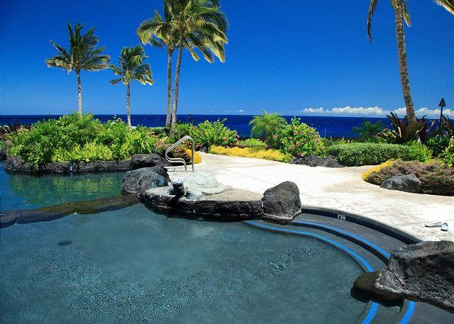 Ocean Club Pool right off the Pacific Ocean - SPRING & SUMMER SPECIAL $199 a night-5 night minimum..Luxury Property with sp - Waikoloa - rentals
