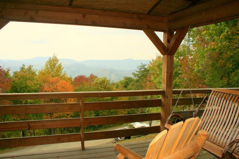 HUGE SALE*Cozy Log Cabin*Hot Tub*BIG VIEW*Firepit - Image 1 - Zionville - rentals