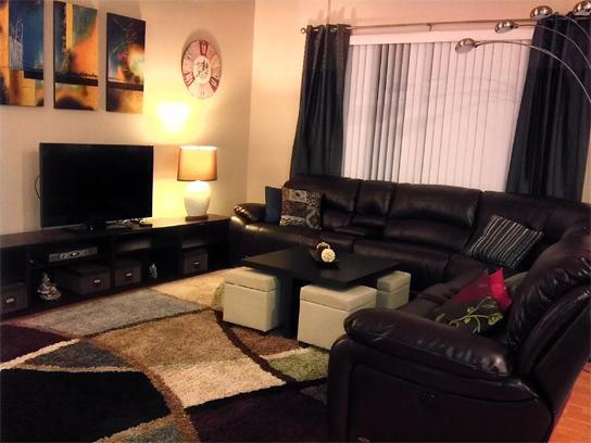 family room - Disney Area Luxurious Home - pool cinema gameroom - Davenport - rentals