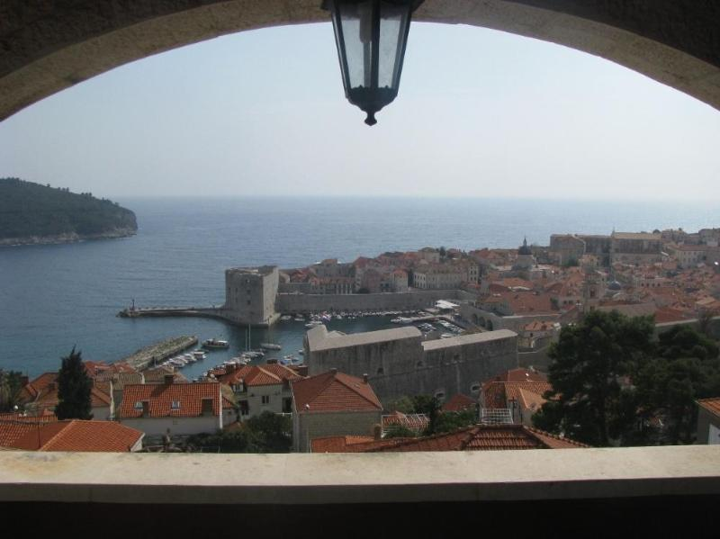 View from Balcony - Sea View Living Room W. Balcony-House with garden - Dubrovnik - rentals