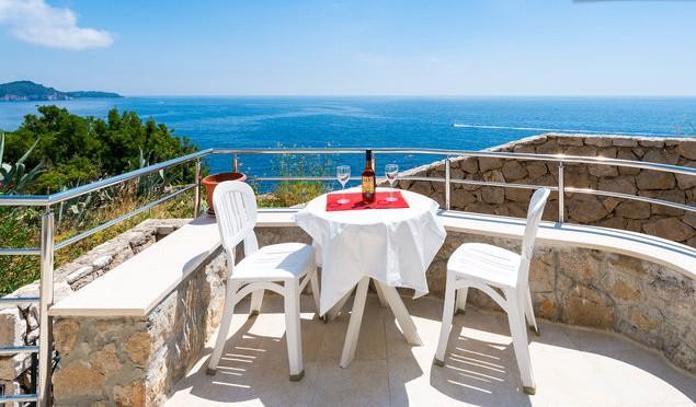 One bedroom condo/magnificent view - Image 1 - Dubrovnik - rentals